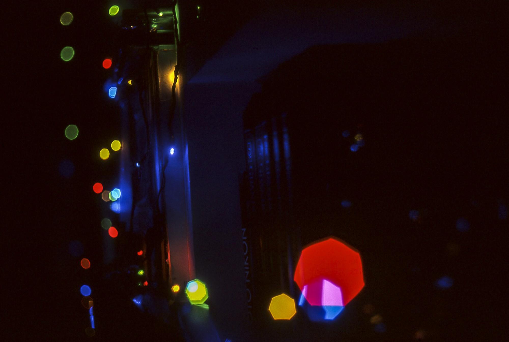 Diapositiva nocturna